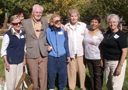Peg Kehres, Jackie Quarterson, Andy Battenbaugh, Renetta Wicker, Virgina Christman, Gladys Turissini, Martha Thorman