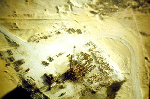 Abqaiq Desert Oil Rig