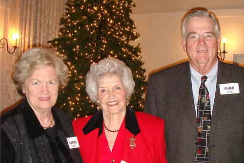 Carol, Edna and Mike Ford