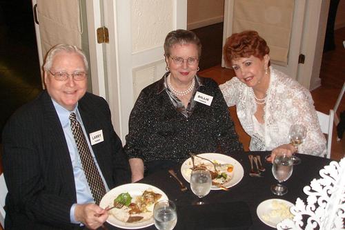 Larry & Bilie Tanner and Helen Streaker
