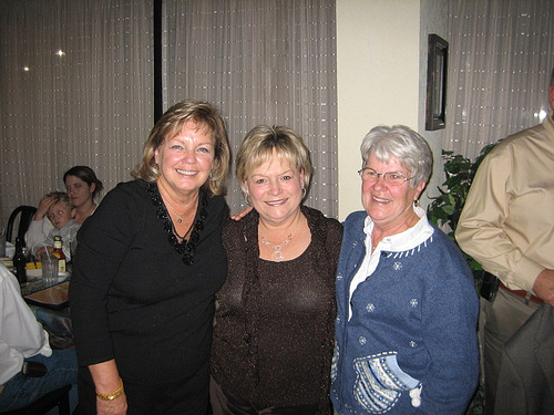 Sheila, Jane and Ginny