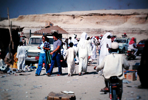 Shopping in Al-Hasa 1979