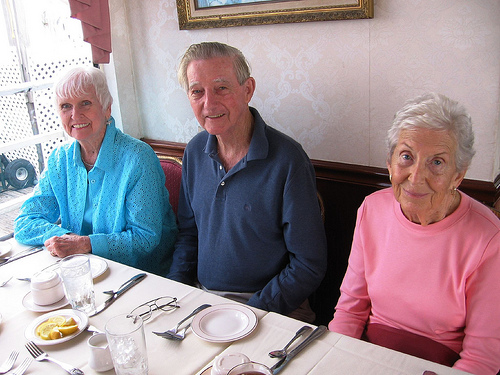 Ruth Mahon, Joe Mahon, and Eve Lee