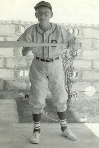 Kent Howell in Uniform