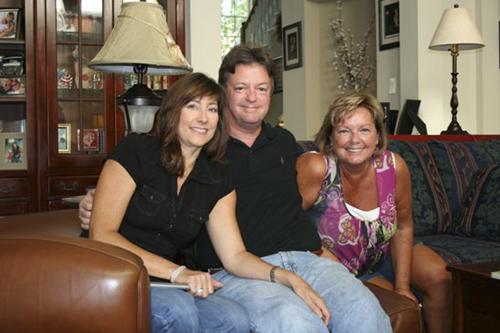 Kayla and Bob Munter and Sheila Stevens
