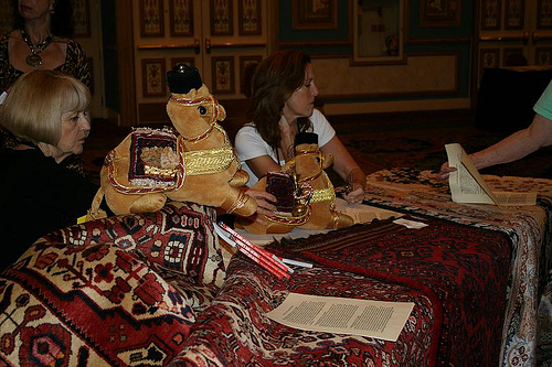 Charity Rugs Table at the Sidelines Suq (1)