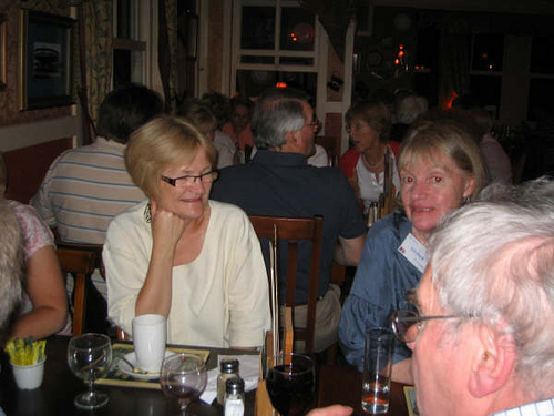 Carter, Lois & Tony Marsh at Old Windsor Toby Restaurant on the Friday evening.