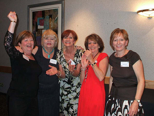 Jean Sullivan, Judy Enright, Tricia Ryan, Lesley Williams & Linda Powell.