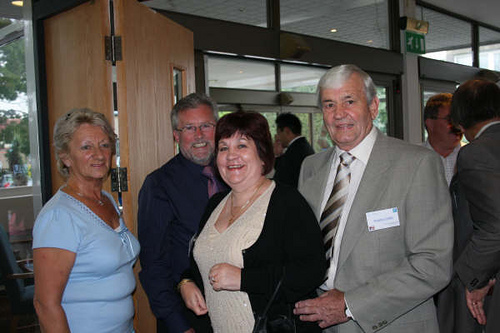 Eileen & Tom with Christine & Douglas Golder