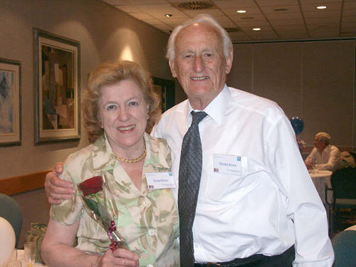 Michael & Drena Brown who celebrated their 55th Wedding Anniversary 2 weeks after the reunion.