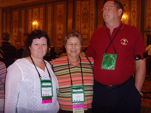 Pam and Norma Branch, Dave Griffith