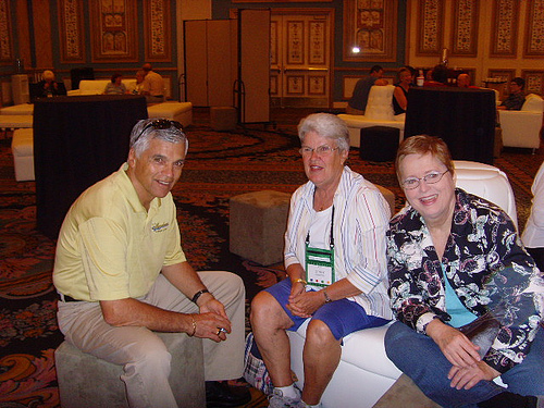 Ted Anderson, Ginny Griffith, Marie Riley