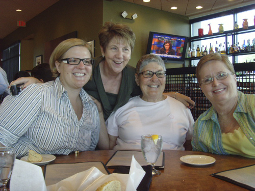 Shannon Shea (Aramco Brat now working in Japan) Glenda Moore, Ellie Shea, Marie Riley