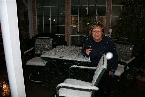 Snow in Houston (1)