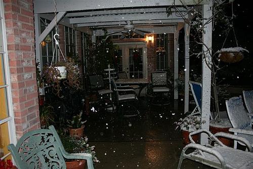Snow in Houston (3)