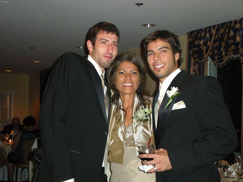 Best Man, Mom and Chris