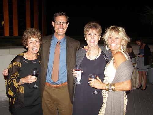 Monica, Otto, Leny, and Karen