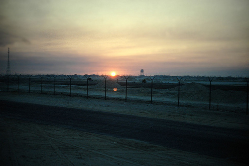 Abqaiq Sunset