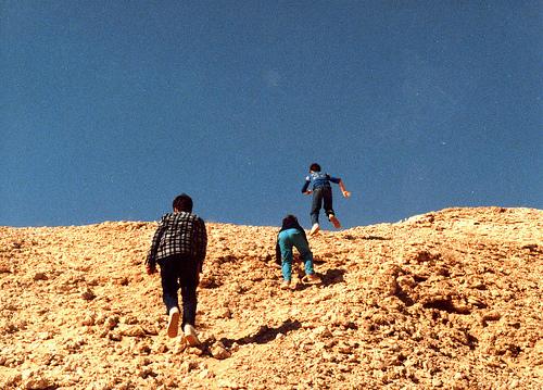 Climbing a Jebel