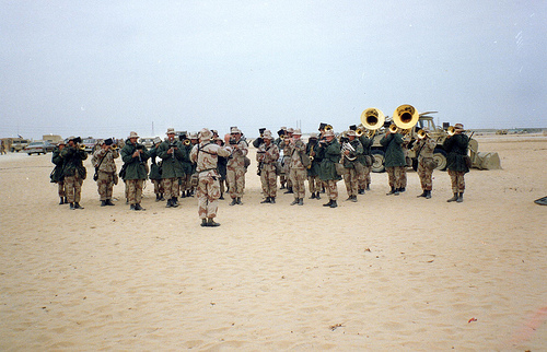 And the Marine Band Played On
