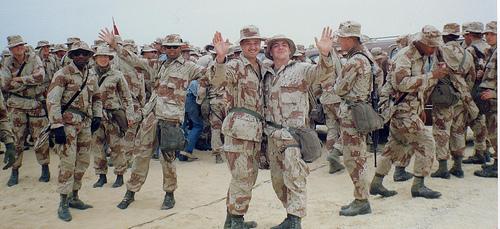 Marines Visit the KSA