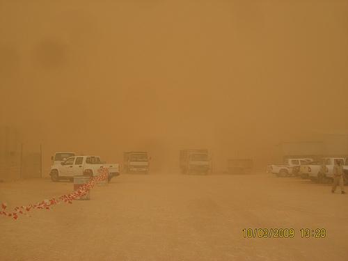 Sand Storm in Khurais (8)
