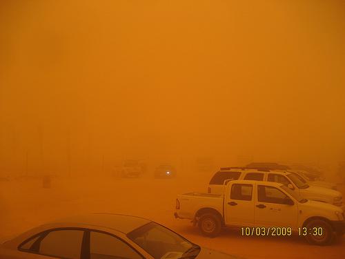 Sand Storm in Khurais (9)