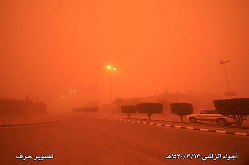Sand Storm in Riyadh (3)