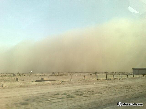 Sand Storm in Riyadh (7)