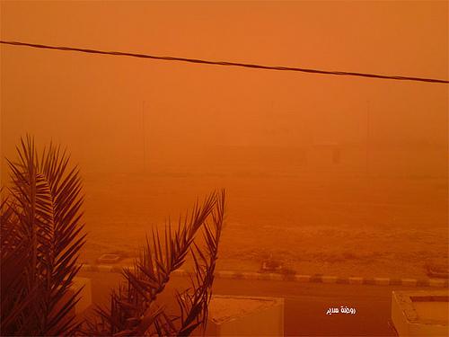 Sand Storm in Riyadh (9)