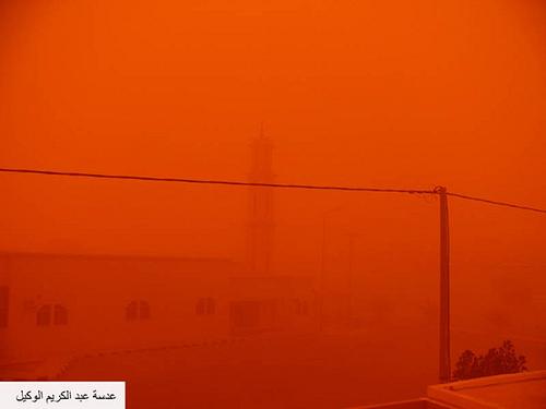 Sand Storm in Riyadh (10)