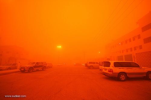 Sand Storm in Riyadh (12)