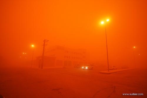 Sand Storm in Riyadh (13)