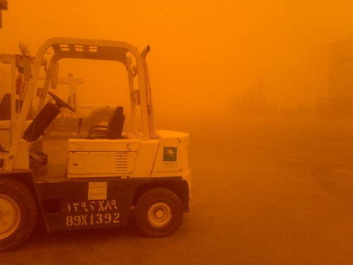 Sand Storm at Pump Station-3 (1)