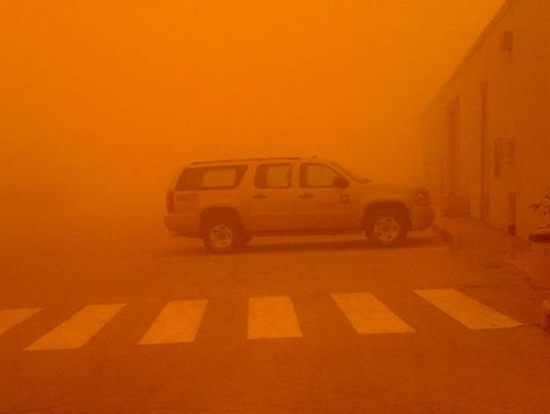Sand Storm at Pump Station-3 (2)