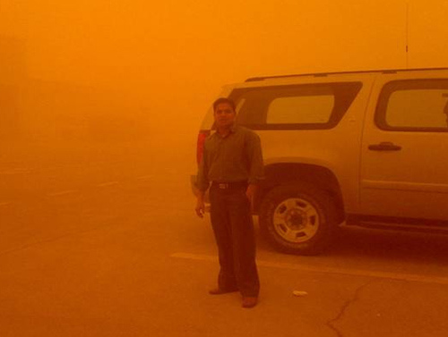 Sand Storm at Pump Station-3 (4)