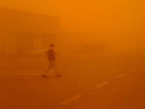 Sand Storm at Pump Station-3 (5)
