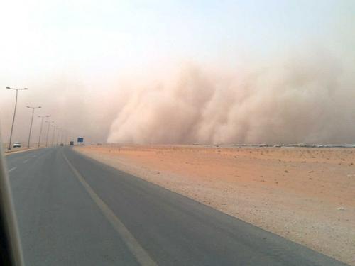 Sand Storm in Khurais (1)