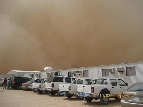 Sand Storm in Khurais (6)