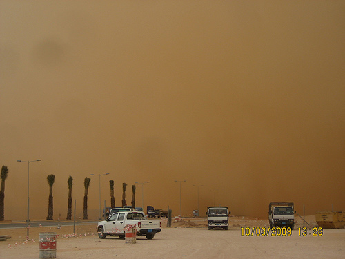 Sand Storm in Khurais (7)