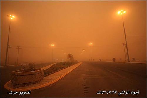 Sand Storm in Riyadh (2)