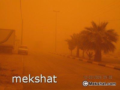 Sand Storm in Riyadh (6)
