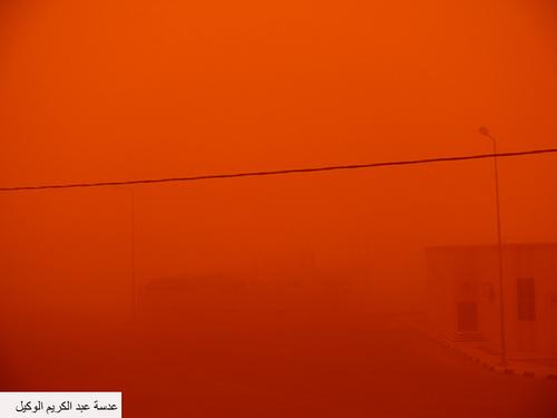 Sand Storm in Riyadh (11)