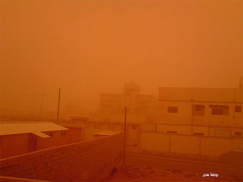 Sand Storm in Riyadh (14)