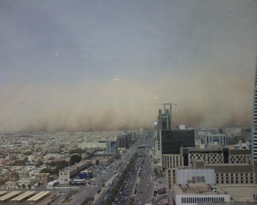 Sand Storm in Riyadh (15)