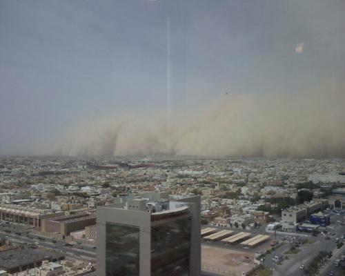 Sand Storm in Riyadh (16)