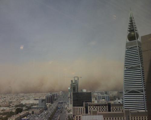 Sand Storm in Riyadh (17)