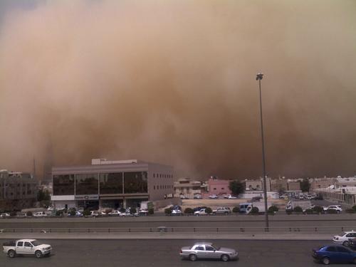 Sand Storm in Riyadh (20)