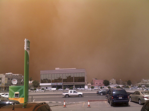 Sand Storm in Riyadh (21)