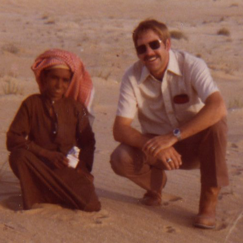 Ray Stevens and Saudi Arabian boy